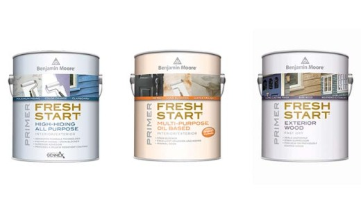 Fresh Start paint cans