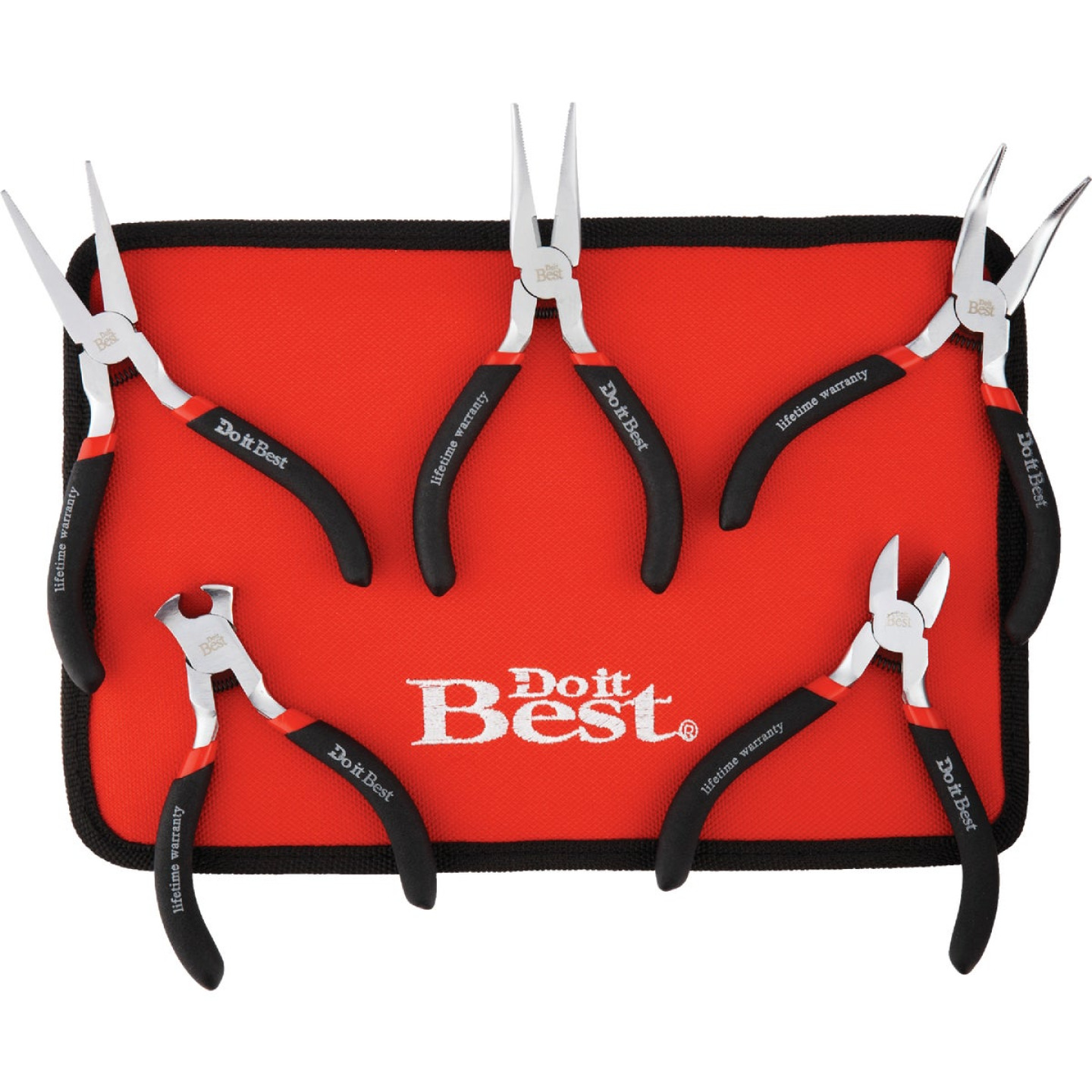 Do it Best Hobby Pliers Set (5 Piece) Image 1