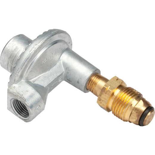 MR. HEATER 3/8 In. FPT x P.O.L. Low Pressure 90 Deg Angle LP Low-Pressure Regulator