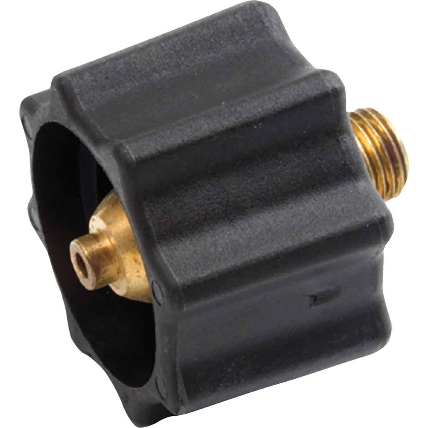 MR. HEATER Coupling Nut x 1/4 In. MPT Propane Grill End Fitting Image 1