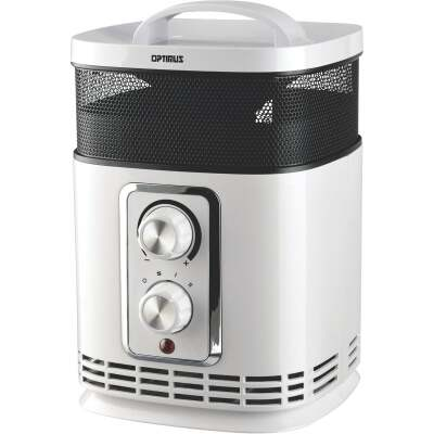 Optimus 1500-Watt 120-Volt Oscillating Tower Ceramic Space Heater