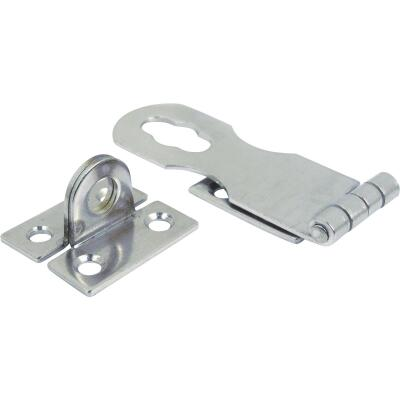 Seachoice 1 In. x 2-7/8 In. Chrome-Plated Stainless Steel Safety Hasp