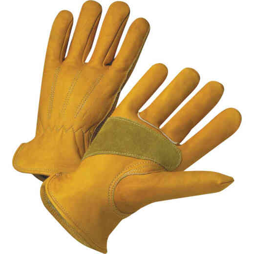 West Chester Protective Gear Men's Small Grain Cowhide Leather Work Glove