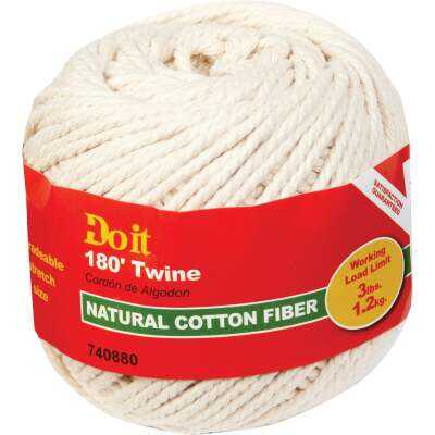Do it #21 x 180 Ft. Natural Cotton Twine
